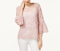 INC International Concepts Lace Tops, Rose Tint