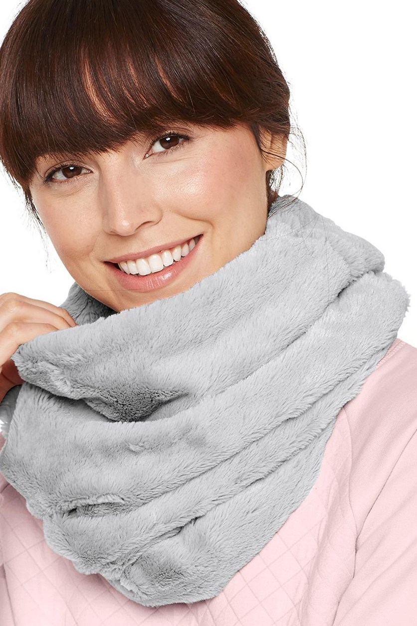 Women's Loop Scarf, Gray
