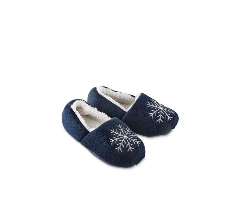 Women's Slipper, Navy blue