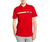 Puma Herren AFC Fan Cannon Polo Shirt, High Risk Red
