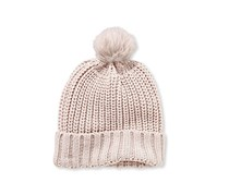 Knitted Hat, Cream