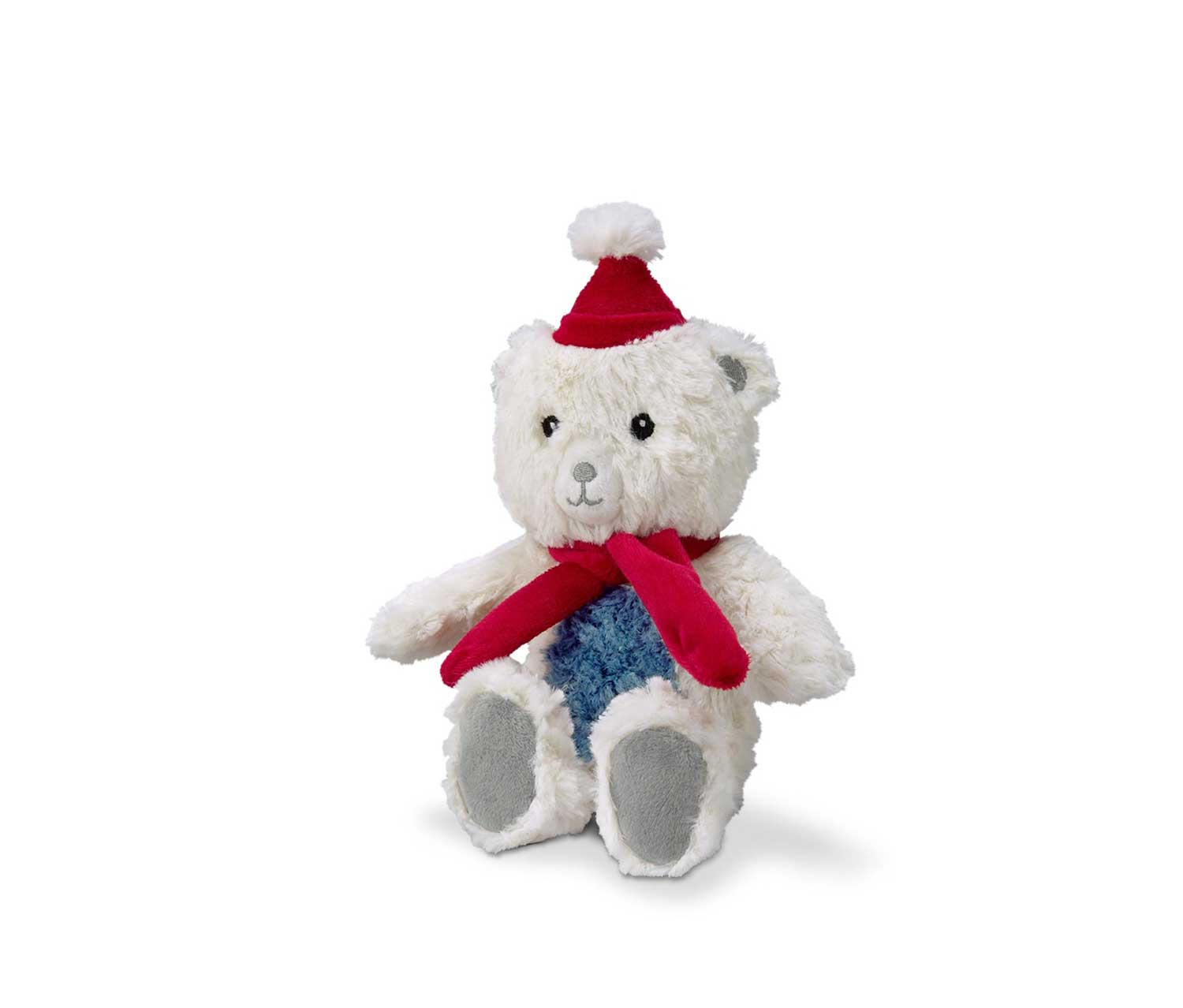 Polar Bear with Sound, White/Red