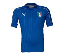 Puma Men's FIGC Italia Home Shirt Authentic, Blue/White