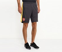 Puma Men's AFC Reflica Shorts, Grey/Spectra Yellow