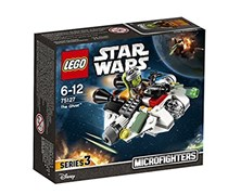 Lego Star Wars Microfighters Series 3 The Ghost Building Blocks, White/Black/Green
