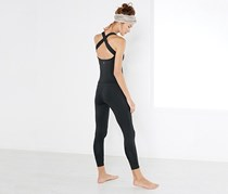 Women Fitness Jumpsuit, Black