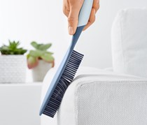 Rubber Cleaning Brush, Blue