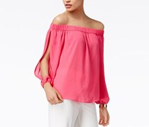 INC Off-The-Shoulder Top, Intense Pink