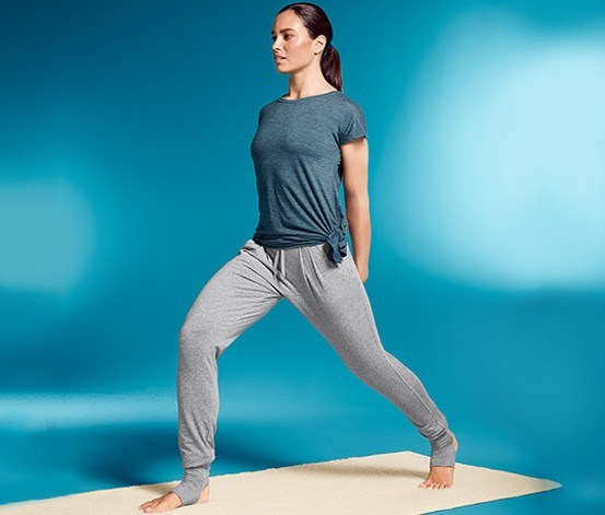 Women Yoga Trouser, Grey