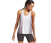 Ideology Ombre-Print Stretch T-Back Top, Deep Charcoal