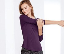 Women Wellness Shirt, Purple