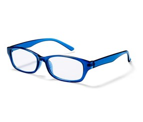 Spare Reading Glasses, Blue