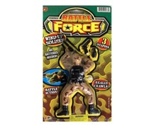 Ja-Ru Battle Force Wind Up Soldier, Brown