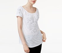INC International Concepts Off-The-Shoulder Top, Bright White