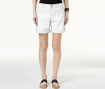 INC International Concepts Cuffed Cargo Shorts, Bright White