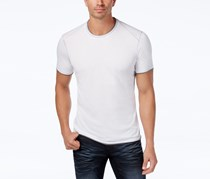 INC Mens Soft Touch T-Shirt, White Pure