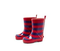 Kids Wellington Boots, Red/Blue