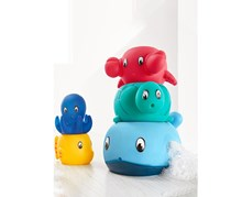 Water Game 5 Pieces, Blue/Red/Yellow