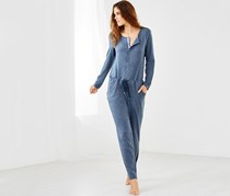 Women's Lounge Overall, Blue