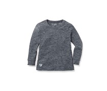 Girls kids, Performance top, Longsleeve, Gray