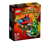 LEGO Super Heroes Marvel. Spiderman Vs Scorpio, Red