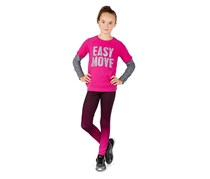Girls Kids Sweatshirt Shortsleeve, Pink