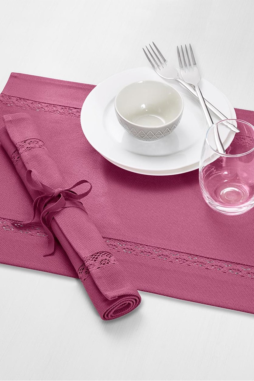 2 Dish Cloths, Raspberry