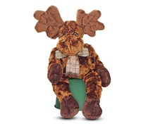 Melissa & Doug Maximillian Moose Stuffed Animal, Brown