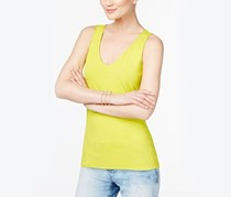 INC International Concepts V-Neck Tank Top, Citrus Burst