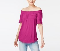 Inc International Concepts Off-The-Shoulder Top, Magenta Flame