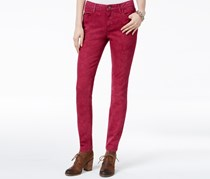 Tommy Hilfiger Quiet Shade Stonewashed Jegginngs, Red Plum