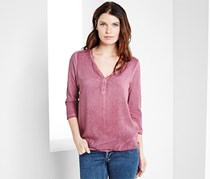 Women's Blouse T-Shirt, Rosewood