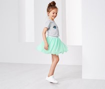 Girls Tulle Skirt, Mint