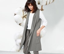 Women's Cardigan, Grey