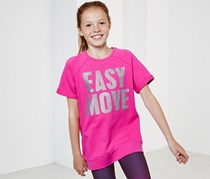 Girls Printed Shirt, Pink