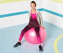 Girl's Sporttight, /Fuschia
