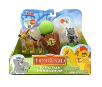 The Lion Guard Battle Pack With Accessory Coconut Launcher