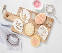 Easter Cookie Cutter With Templates, Transparent