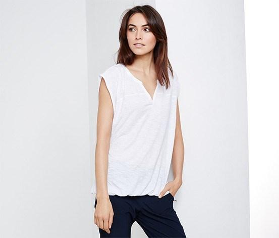 Women's Top, White
