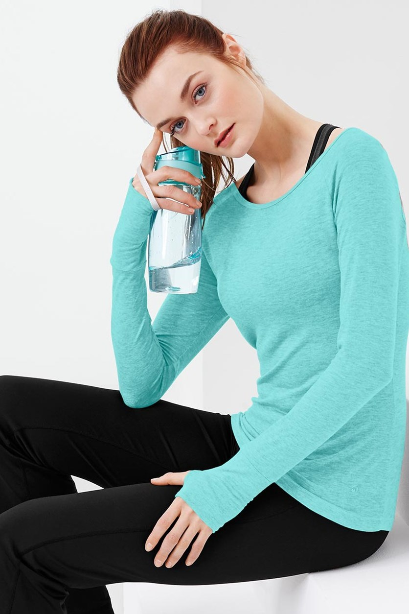 Women's Wellness Shirt, Turquoise