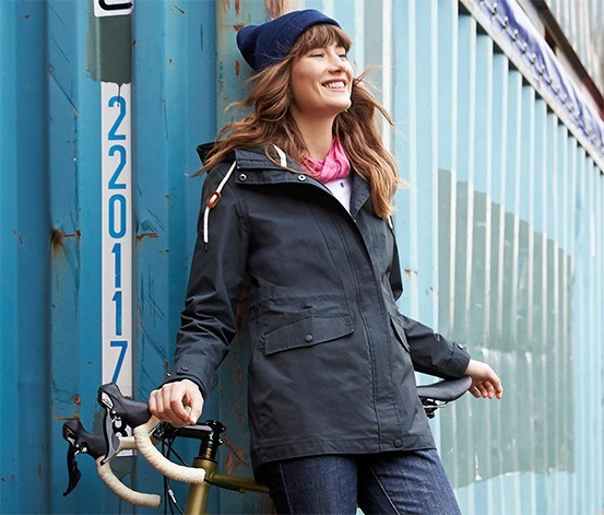 Women's Parka, Dark Blue