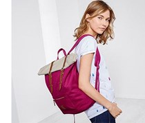 Backpack Roll Top, Bordeaux