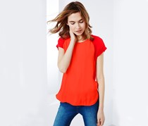 Women's Blouse Shirt, Orange