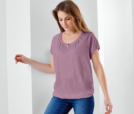 Women's Short Sleeve T-shirt, Fuchsia