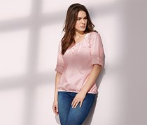 Women's Tunic Blouse, Pink