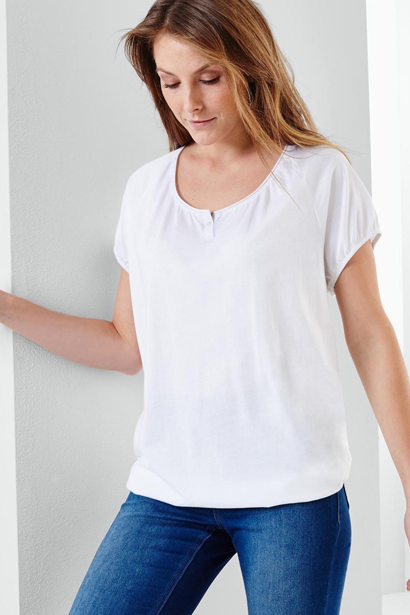 Women T-Shirt, White