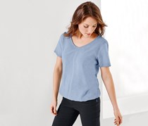 Women Blouse, Blue