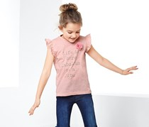 Girls T-shirt, Rusty Pink