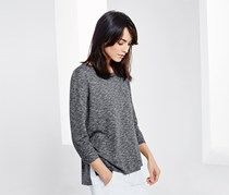 Women's Fine Knit Sweater, Grey