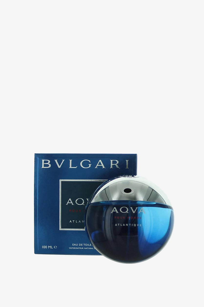 Aqva Pour Homme Atlantiqve Men Eau De Toilette Spray 3.4 oz, 100 ml